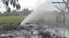 Semburan Gas Beracun di Indramayu Resahkan Warga Setempat