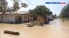 Tanggul Sungai Jebol, Ratusan Rumah Terendam Banjir di Sumut