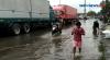 Jalan Kalibaru Cilincing Terendam Banjir