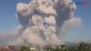 Gunung Sinabung Luncurkan Awan Pana