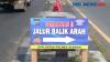 H-1 Larangan Mudik, Kendaraan Pemudik Melintasi Perbatasan Yogyakarta-Klaten