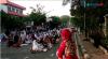Akses Jalan Enim Raya Ditutup Sementara saat Salat Ied Masjid Raya Al Husna