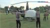 Helikopter BNPB Mendarat Darurat di Lapangan Sepakbola