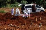 Pemakaman Jenazah Covid-19 Warnai Lebaran Hari Kedua di Tangsel