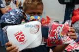 Jelang HUT RI ke-75, Masker Merah Putih di Pasar Asemka Diburu Warga