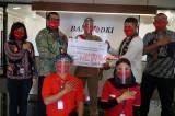Ribuan Faceshield untuk Garda Depan Transjakarta dari Bank DKI