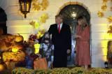 Presiden Trump dan Keluarga Rayakan Halloween di Gedung Putih