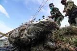 Danrem 011/Lila Wangsa Panen Udang Windu di Blang Naleueng Mameh