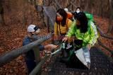 Pesan Selamatkan Dunia Seniman Korea Selatan dari Sampah Pendaki