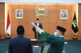 Bambang Soesatyo Lantik Anggota MPR Pergantian Antar Waktu