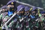 Peringati Hari Kartini, Korps Prajurit Wanita TNI Gelar Apel Bersama
