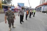 Penyeketan Larangan Mudik di Perbatasan Jakarta-Tangerang