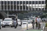 Ditlantas Polda Metro Akan Kaji Jalur Sepeda Permanen di Jakarta