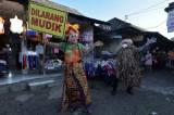 Polisi Gelar Edukasi Larangan Mudik di Pasar Tradisional