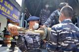 Komponen dan Serpihan KRI Nanggala 402 Berhasil Diangkat ke Permukaan