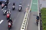Jalur Sepeda Permanen Sudirman-Thamrin Bakal Dibongkar