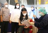 Sentra Vaksininasi Covid-19 Anak di Ancol