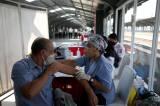 Percepatan Vaksinasi Covid-19 di Stasiun Jakarta Kota