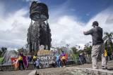 Antusiasme Warga Pada PON Papua di Timika