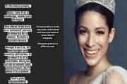 Eks Miss Universe Malaysia Komentar Rasis soal Pembunuhan George Floyd