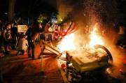 Demonstrasi Damai George Flyod Berubah Rusuh, Empat Polisi AS Tertembak