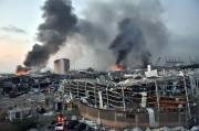 Kuat dan Menghancurkan, Radius Kerusakan Ledakan Beirut Capai 10 Kilometer