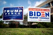 Trump Sesumbar Bakal Teken Perintah Eksekutif Cegah Biden Ikut Pilpres
