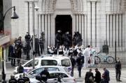 Kelompok Ekstrimis Tunisia Klaim Serangan Pisau di Gereja Prancis