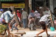 Korban Terus Berjatuhan, 9 Tewas Saat Polisi Myanmar Bubarkan Aksi Protes