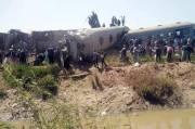 Rem Darurat Picu Tabrakan Maut Kereta Api di Mesir, 32 Tewas