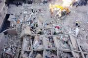 Gedung Runtuh di Mesir, 18 Orang Tewas