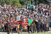 45 TewasSaatMemberikan Penghormatan Terakhirkepada Mantan Presiden Tanzania