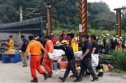 Bos Truk Penyebab Tragedi Kereta Api di Taiwan Minta Maaf