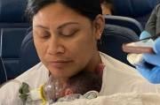 Tak Tahu Sedang Hamil, Wanita Ini Melahirkan di Pesawat yang Terbang 30.000 Kaki