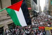 Demonstran Pro Palestina dan Israel Bentrok di New York