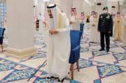 Raja Salman dan Pangeran MBS Salat Idul Fitri di Tempat Terpisah