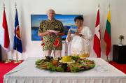 Promosi di Tengah Pandemi, KBRI Kopenhagen Luncurkan Buku Tentang Gunung Berapi Indonesia