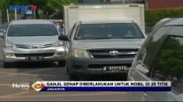 Mulai Hari ini Ganjil Genap Mulai Kembali Diterapkan Pemprov DKI Jakarta di 25 Ruas Jalan