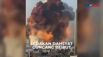 Diguncang 2 Ledakan Dahsyat, Beirut Luluh Lantak