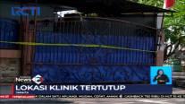 Polisi Segel Klinik Aborsi Ilegal di Jakarta Pusat