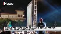 Abaikan Pandemi Covid-19, Wakil DPRD Tegal Gelar Konser Dangdut