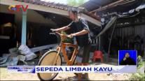 Sepeda Kayu dari Limbah Kayu Pinus