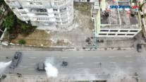 Dankormar Tinjau Latihan Perang Kota di Lampung