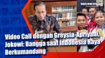 Video Call dengan Greysia-Apriyani, Jokowi: Bangga saat Indonesia Raya Berkumandang