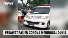 Pelepasan Jenazah Perawat Pasien Corona di RSUD Pasar Rebo Diwarnai Isak Tangis