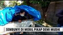 Hindari Larangan Pulang Kampung, Delapan Pemudik Sembunyi di Mobil Pick Up