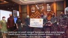 MNC Peduli Serahkan Bantuan 30 Ribu APD ke TNI AD