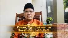 Puasa Raih Takwa dan Sehat Lahir Batin - KH M Cholil Nafis