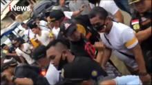 Bawa Senjata Tajam, Penagih Hutang Ditangkap Polisi di Samarinda