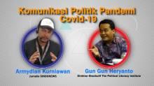 Visual Podcast Komunikasi Politik Pandemi Covid-19